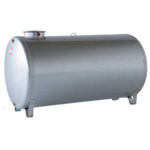 Serbatoio acciaio inox aisi 304 cilindrico orizzontale
