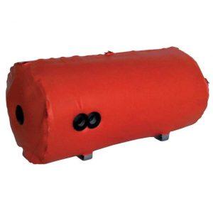 Bollitore cilindrico orizzontale a intercapedine