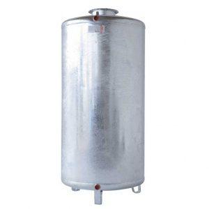 Serbatoio zincato cilindrico verticale